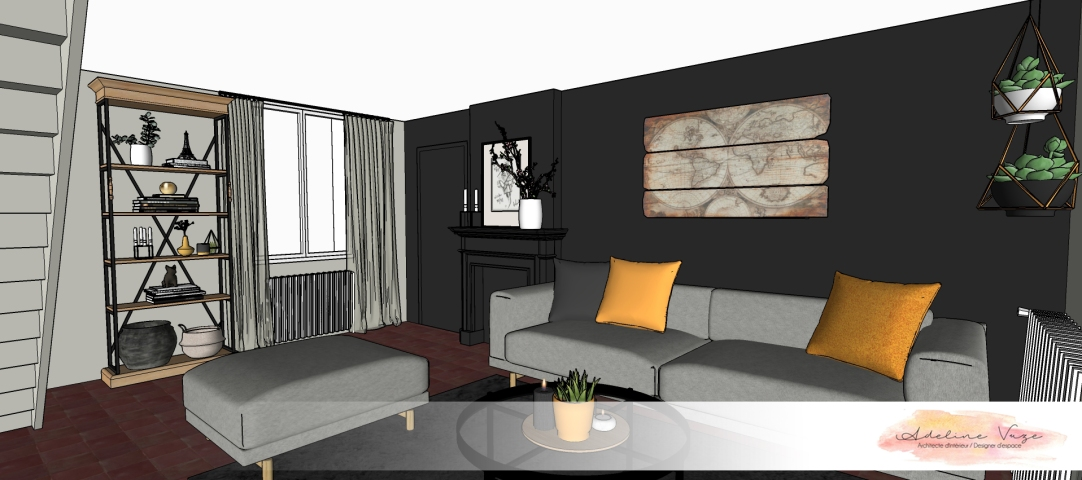 Réaménagement joli maison